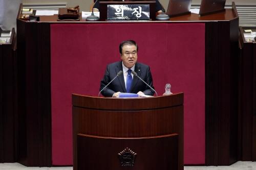 [국회의장]    국회청원, 우선적 논의하고 신속하게 입법 요청