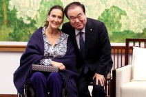 국회의장 , 가브리엘라 미체띠  아르헨티나 부통령 겸 상원의장 면담